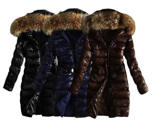 Women Down Jacket Warm Down Parkas 2018 New Arrival Brand Winter Coat Jacket Outerwear Overcoat Hooded Fur Collar Lady Coat