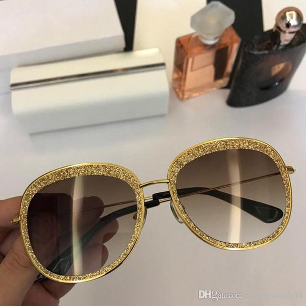Sunglassses women designer sunglasses new style swarovski flash powder paste exquisite baking process Brand sunglasses designer glasses .