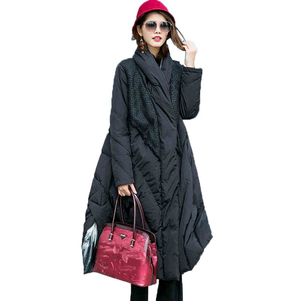 High grade down parkas female 2018 winter down jacket coat womens long warm white duck coats ladies cloak skirt jacket