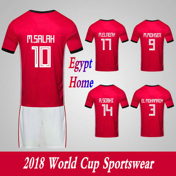 cbad1973e6e Men s Clothing Tracksuits Egypt National Team Home Football Sport Suits  2018 World Cup Soccer Uniform Clothes