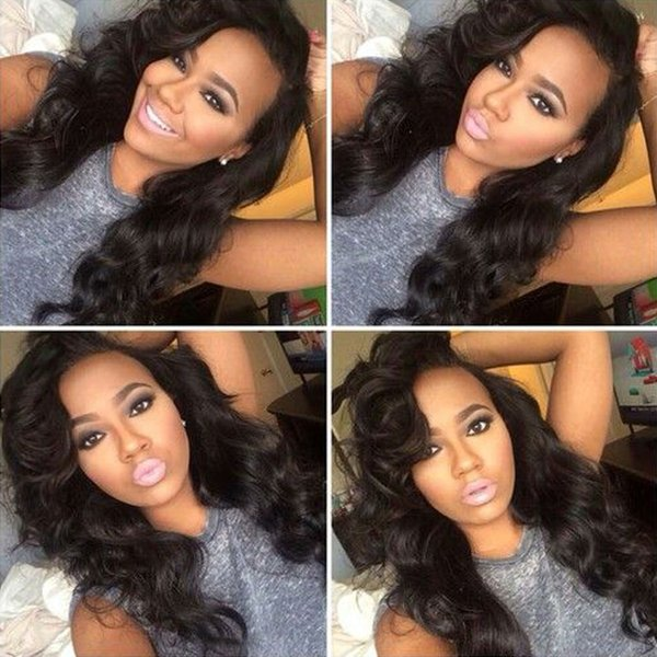 Brazilian Body Wave Hair 3 Bundles 100% Unprocessed Virgin Human Hair Weft Extensions Natural Color(100+/-5g)/pc Free Shipping