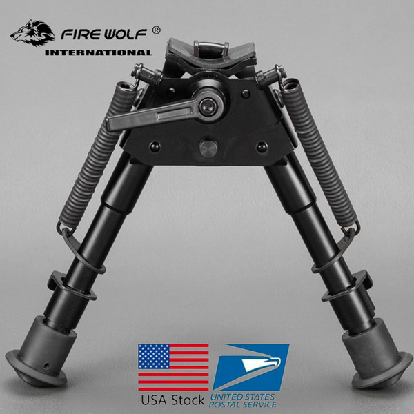 6-9 inch bipod High Shockproof Swivel series tilting bipods with adjusting Pod-locker Pivot Model Bipod for hunting