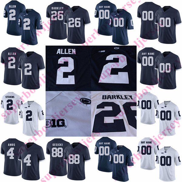 best loved 24bf7 c5eb8 2019 Penn State Nittany Lions Jersey 42 Lenny Moore 34 Franco Harris 32  Blair Thomas 12 Kerry Collins 31 Shane Conlan 89 Dave Robinson Jack Ham  From ...