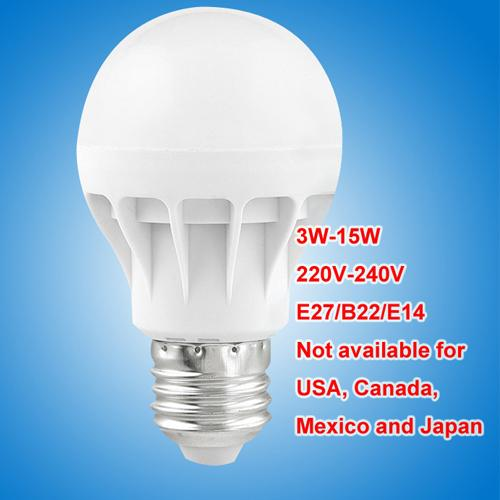 LED bulbs E27 B22 E14 globe Bulbs Lights 3W-15W SMD2835 LED Light bulbs super bright light bulb energy-saving light 220V 230V 240V