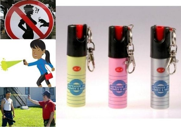 Hot Sell NEW 3PCS/Lot NATO CS-GAS JA defensive perfume sprayer Pepper spray defender of Women Men Security 20ML Free Ship Best Price