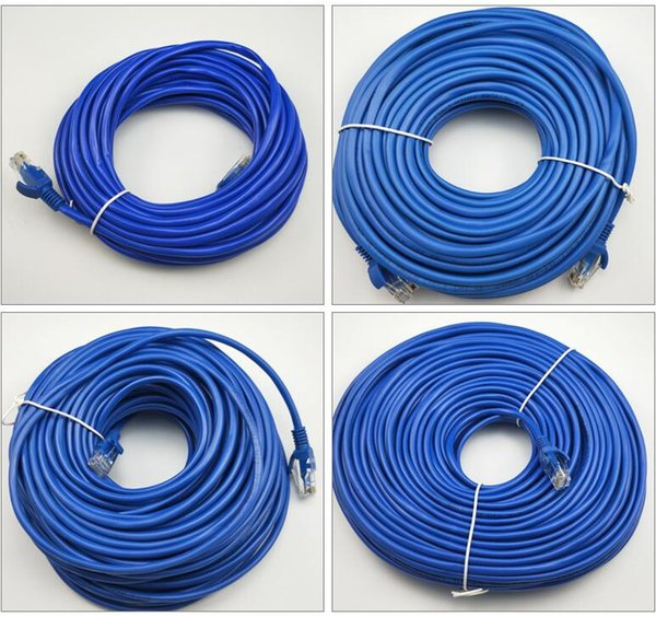High Speed CAT5 RJ45 Patch Ethernet LAN Cable Network Cable 20M / 25M / 30M / 40M 50M for PC