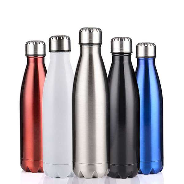 Hot Sale 500 ml thermos vacuum flask Expansion bottle of water bottle coffee cup sports kettle vacuum flask electroplating bot