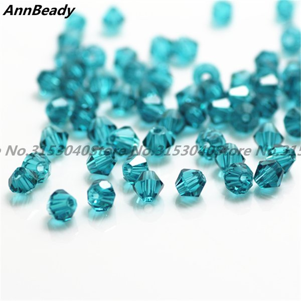 100pcs New Rose Color 4mm Bicone Crystal Beads Glass Beads Loose Spacer Beads Diy Jewelry Making Austria Crystal Beads Cheap Sales Beads Beads & Jewelry Making