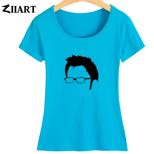Frauen Tee zehnter Arzt David Tennant Kopf Porträt Dalek Arzt, der paar Kleidung Sommer Mädchen Frau Kurz - Hülse T Shirts Ziiart