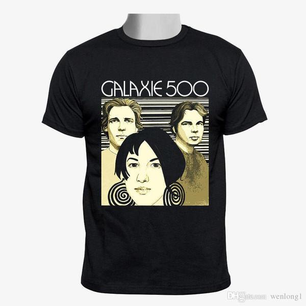 Galaxie 500 группа пользовательские мужчины футболка размер мужской Harajuku топ фитнес бренд одежды печати футболка