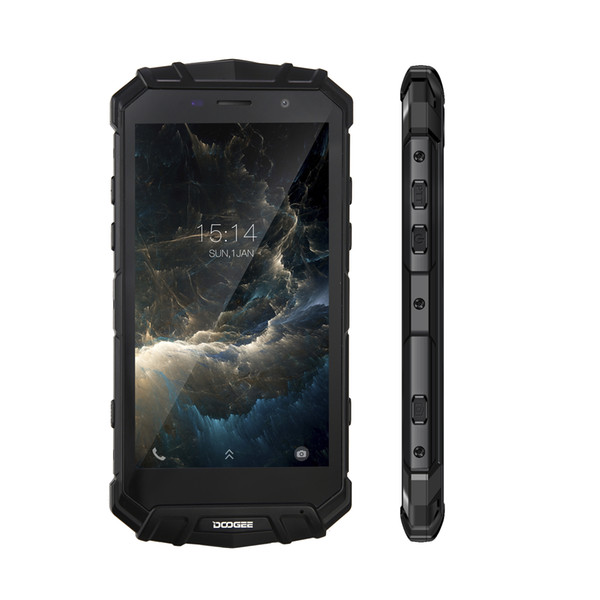 DOOGEE S60 IP68 Waterproof 5.2Inch Smartphone 21MP 6GB RAM 64GB ROM Android7.0 Phone Fingerprint Octa Core Mobile Phone 5580mAh Fast Charg