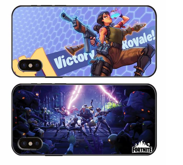 hot sale online b129d 0f613 Popular Fortnite Cool Phone Case For IPhone X 10 XS XR MAX 8 7 6 6S Plus 5  5S SE 5C For Different Nice Designe Review Wholesale Cell Phone Cases ...