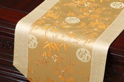 biege bambu çiçeği 230x33 cm