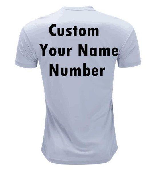 nome personalizzato bianco e il numero