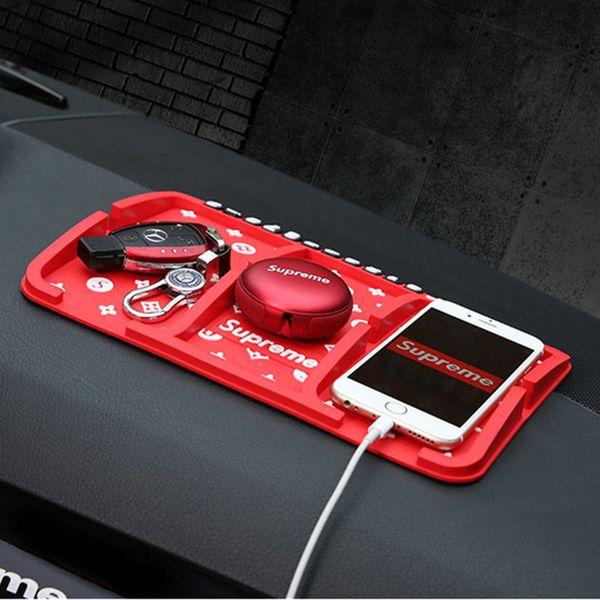 Auto creativa Auto temporanea parcheggio Anti-slittamento auto cruscotto appiccicoso pad antiscivolo supporto GPS telefono Dec22
