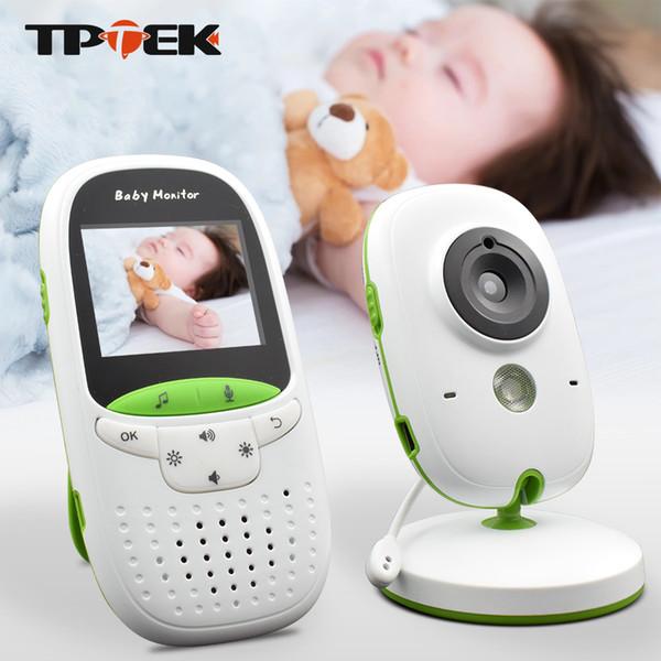 Bebê Monitor VB602 Sem Fio de Áudio e Vídeo Baba Eletrônico Portátil Intercom Babyfoon Câmera BeBe Nanny Walkie Talkie Babysier