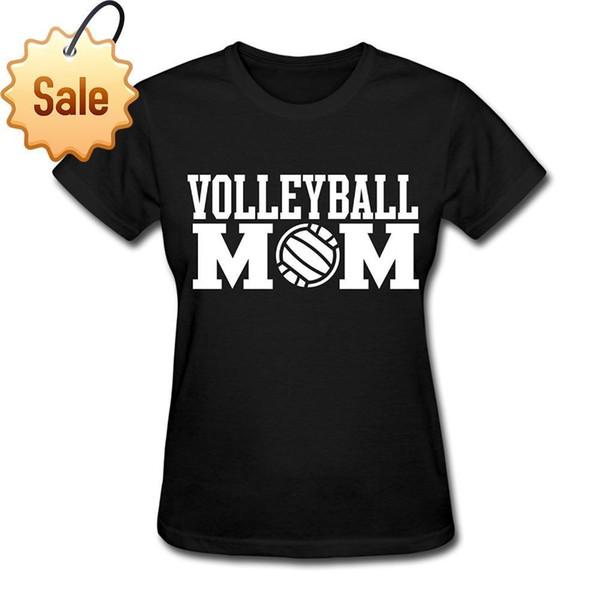 2018 Yeni Moda Marka Giyim Tasarım Tee Gömlek Voleybolu topu Anne Sporcu Anne erkek T-Shirt Komik Rahat Giyim