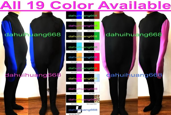 Unisex Mummy Costumes Body Bags Sleeping Bags Outfit New 19 Color Lycra Sleeping Bags Mummy Suit Costumes With internal Arm Sleeves DH277