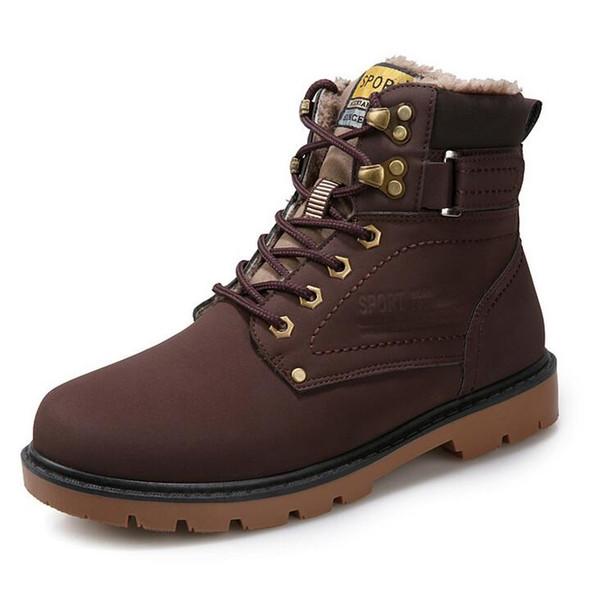 Sonbahar ve kış yeni Martin çizmeler toptan açık takım ayakkabılar tek taraflı artı kadife rahat botlar boyutu 39-46 metre