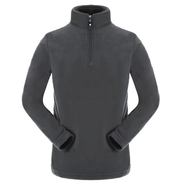 Men's Sweater New Arrival Fashion Outdoor Sports Fleece Pullover Sweater for Male Color Black Grey Purple Blue Size M-3XL