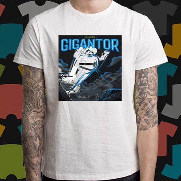 New GIGANTOR Cartoon Classic 60/'s Men/'s Black T-Shirt Size S to 3XL