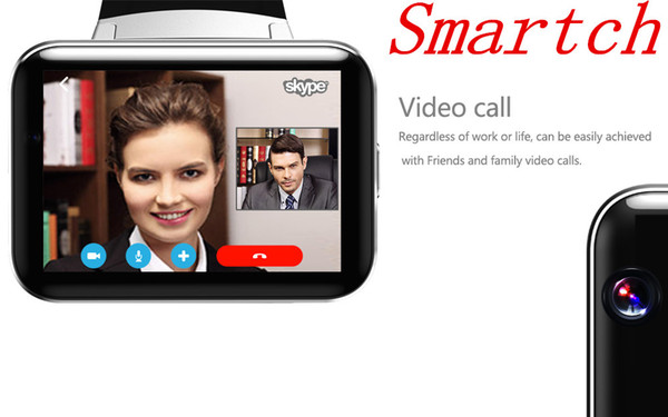 Smartch DM98 WCDMA GPS Smart Watch 2.2 inch 3G Smartwatch Phone MTK6572 900mAh Battery 1.2GHz 4GB ROM Camera Android 4
