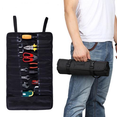 Bolsas de organizador de almacenamiento de coche en plegables portátiles que viajan la caja de herramientas colgantes Accesorios de automóvil Tronco de estiba automática ordenando el estilo de coche
