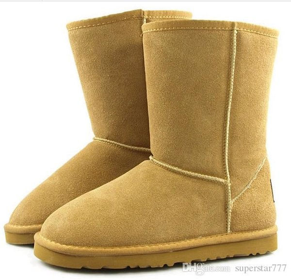 Hot 2019 winter New Australia Classic snow Boots A+++ Quality Cheap women man winter boots fashion discount Ankle Boots shoes size 5-13