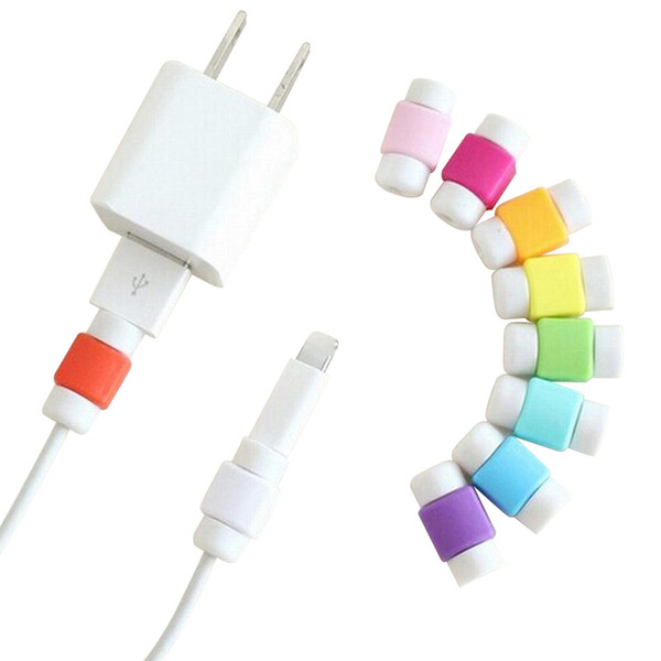 USB Data Cable Line Protector Phone Case Anti Breaking Protective Sleeve For Charging Cable for iPhone for Earphone Line 2000pcs/lot