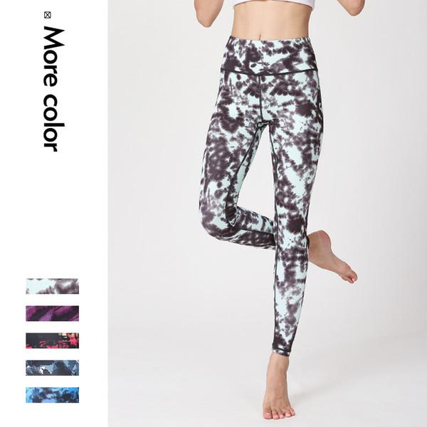 Ladies Sports wear Leggings Fitness High Waist Gym Fitness Sports Tights Skinny Yoga Pants Quick Drying Female Dancing Legging