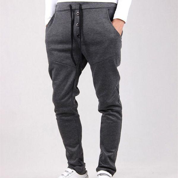 Nice Men Casual Pants Cool New Casual Pants Tracksuit Trousers Men Harem Sweatpants Hip Hop Loose Mens Joggers