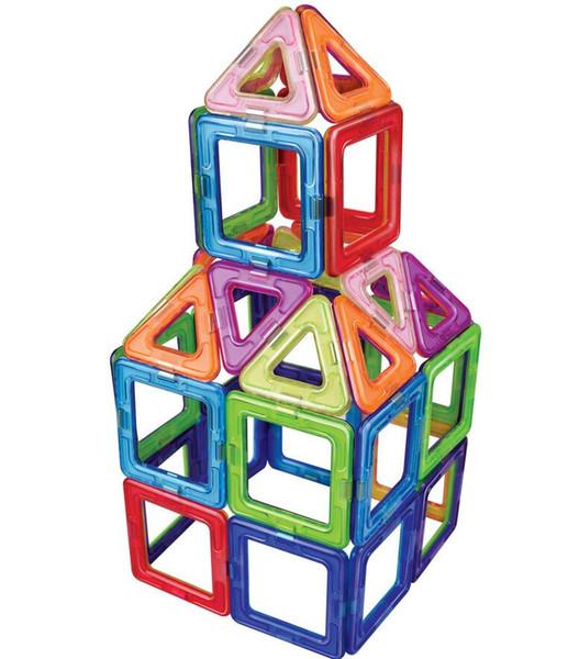 2019 Plastic New Magnetic Building Blocks Models & Building Toy Magnet  Plastic Technic Bricks Learning & Educational Toys For Children From