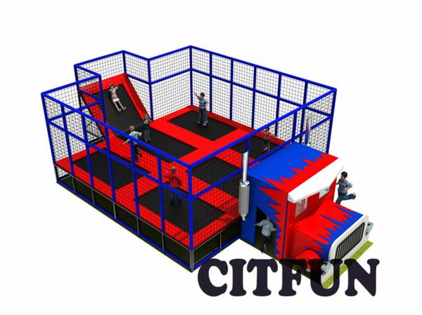Equipamento do parque do trampolim do preço de fábrica de 12 * 8m para a venda CIT-TP223c