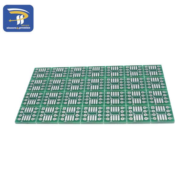 100 PZ SOP8 trasformare DIP8 / SOIC8 in DIP8 Adattatore IC Socket so8 / tssop8 / soic8 / sop8 TO senza pin