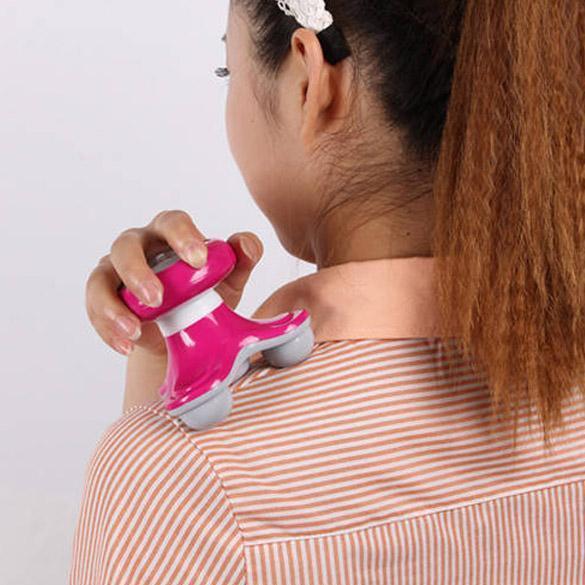 Mini Dalga Titreşimli Geri Masaj USB Pil Elektrikli Saplı Tam Vücut Masajı FM88