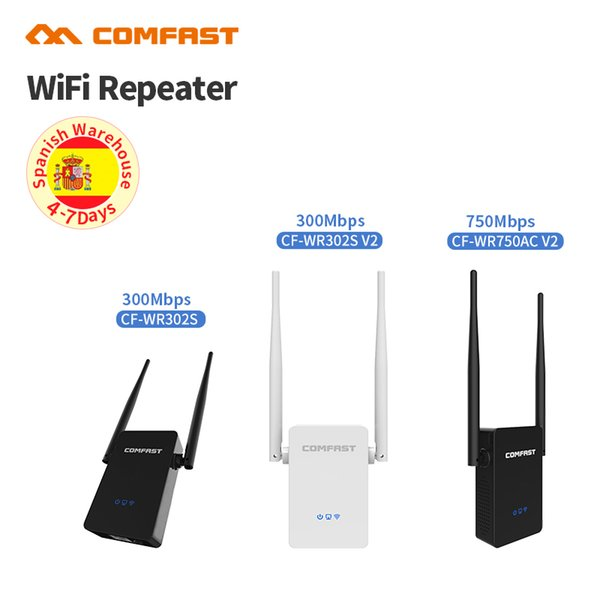 300 -750 Mbps Dual Band Wireless WiFi Repeater Signal Amplifier 802.11N/B/G Wi-fi Range Extender Signal Boosters Repetidor Wifi