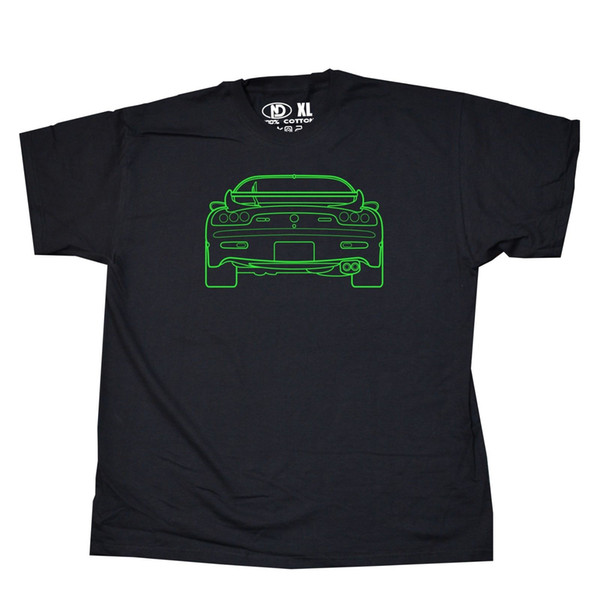 Mazda RX7 RX-7 Sports Car T Shirt 13B Rotary Wankel Engine S M L XL 2XL 3XL 4XL