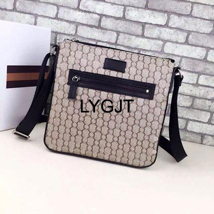 2017L NEW Luxury brand MEN Crossbody PVC+Leather MESSENGER BAG DISTRICT men shoulder for Men Document Briefcase Travel Bags