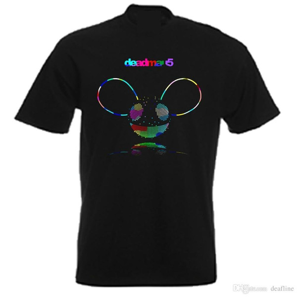 Cool Funny T Shirt High Quality Tees DEADMAU5 UNIQUE DESIGN T SHIRTCotton Tee Shirts Short-sleeve Designer shirts