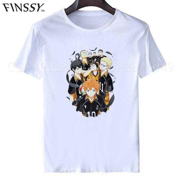haikyuu t-shirt anime cosplay 5 Arten Hot Anime Karasuno High School Cosplay Karneval Kostüme Haikyuu !! Outfit Trikots Hemden