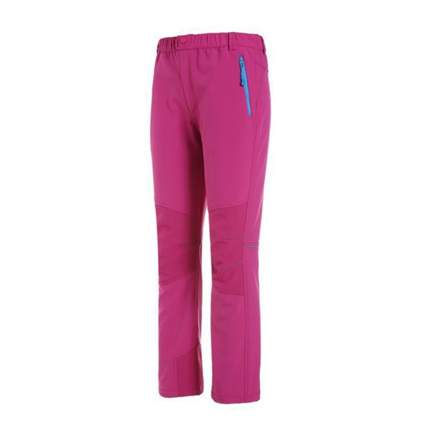 New children's hiking pants warm and windproof outdoor trousers hiking travel skateboard basketball boys and girls sportswear