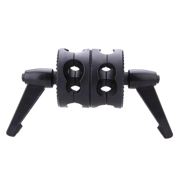 wholesale Dual Swiveling Grip Head Angle Clamp for Photo Studio Boom Arm Reflector Holder Stand