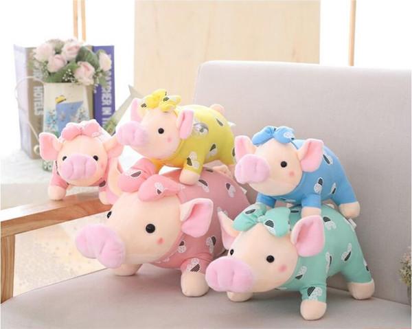 Cartoon Lovely Big Nose Little Pig Short Plush Toy Stuffed Animal Plush Doll Children Birthday & Christmas Gift