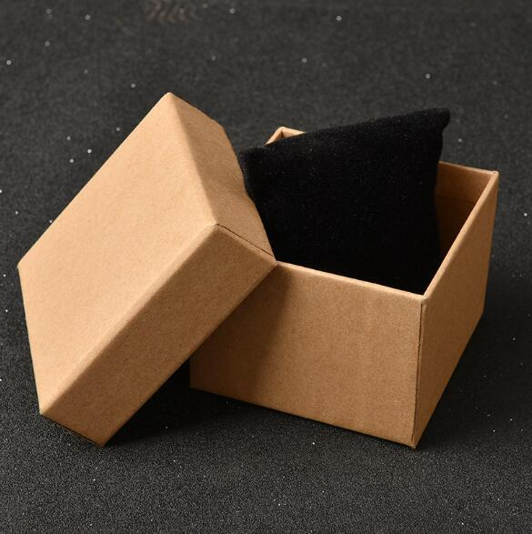 High quality creative jewelry box kraft paper custom watch packing box gift packaging carton manufacturer wholesale jewelry package