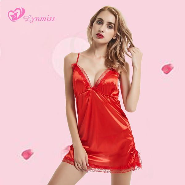 42238ff3f 2018 Lynmiss Новый Красный Женщин Сексуальное Женское Белье Эротическое  Белье Женщин Сексуальный Комплект Женское Белье Горячей