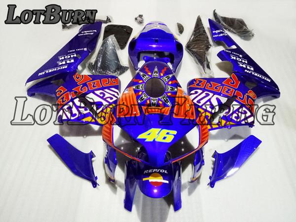 Bodywork Moto Fairings Fit For Honda CBR600RR CBR600 CBR 600 RR F5 2005 2006 05 06 Fairing kit Custom Made High Quality ABS Plastic 07