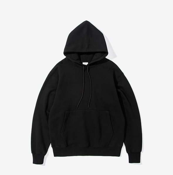 top popular 2018 Man ashion leisure warm dark blue long sleeve Cap unlined upper garment 2019