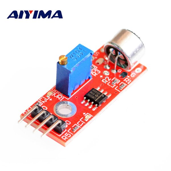 Mikrofonlar AIYIMA 1 Adet Mini Jack 3 MM Yüksek Hassasiyet Mikrofon Sensörü Modülü Smartphone Için Mikrofonun Amplifikatör Modülü DIY Mikrofon