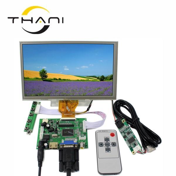 "Thani HDMI VGA 2AV LCD Control Driver Board+ 8"" AT080TN64 800x480 With Touch Panel high-definition LCD Display For Raspberry Pi"