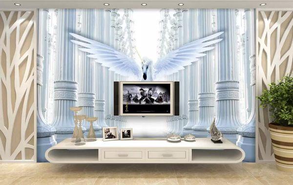 Großhandel Custom Hd Wallpapers Foto 3d Pferd Tapete Für Das Wohnzimmer  Dekoration 3D Tapeten Badezimmer Hintergrund Wand Von Yeyueman, $35.18 Auf  ...